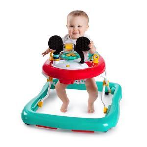 歩行器 ミッキーマウス・ハッピートライアングル・ウォーカー ブライトスターツ bright starts ディズニー ベビー 赤ちゃん SNS 出産 育児 お祝 ギフト 送料無料|pinkybabys