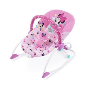 バウンサー ミニーマウス・スターズ&スマイルズ・ロッカー ブライトスターツ bright starts ベビー 赤ちゃん マタニティ 出産  育児 お祝い ギフト 帰省|pinkybabys