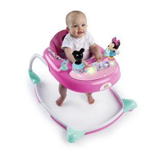 歩行器 ミニーマウス・スターズ&スマイルズ・ウォーカー ブライトスターツ bright starts ディズニー ベビー 赤ちゃん SNS 映え 出産 育児 お祝 送料無料|pinkybabys