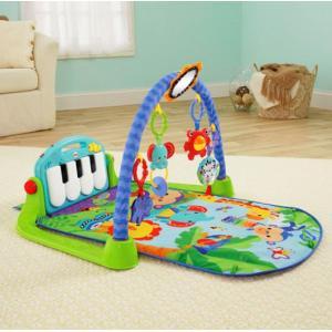 ベビージム あんよでキック!4WAYピアノジム マテル Fisher Price おもちゃ toys ギフト 出産祝い 誕生日 知育玩具 【フィッシャープライス】 pinkybabys