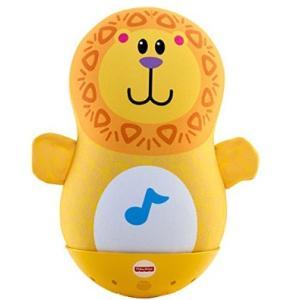 おもちゃ ゆらゆら!ころりん!ライオンくん マテル Fisher Price おもちゃ toys ギフト 出産祝い 誕生日 知育玩具【フィッシャープライス】|pinkybabys