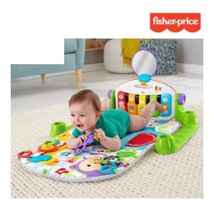 プレイマット あんよでキック! 4WAYバイリンガル・ピアノジム フィッシャープライス ベビージム プレイジム おもちゃ ベビー キッズ 出産 誕生 誕生日 ギフト|pinkybabys