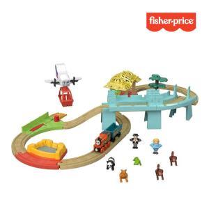 レールトイ きかんしゃトーマス 木製レールシリーズ GoGo 地球まるごとアドベンチャーセット 子供 キッズ おもちゃ 電車 木製 ギフト プレゼント 誕生日 正規品|pinkybabys