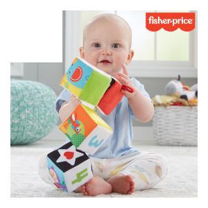 知育玩具 ひっくり返そう やわらかブロック マテル フィッシャープライス おもちゃ ベビー マタニティ ママ 動物 数字 誕生日 お祝い ギフト プレゼント pinkybabys