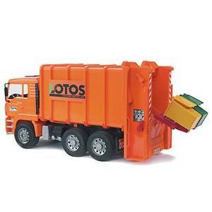 ミニカー MANごみ収集車 ジョブインターナショナル JOB おもちゃ トラック 自動車 働く車 電車 新幹線 シャベルカー ショベルカー 誕生日 【Bruder】|pinkybabys