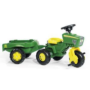 乗用玩具 ジョンディアートライク JOB おもちゃ 自動車 働く車 乗用玩具 シャベルカー ショベルカー 誕生日プレゼント rolly toys ロリートイズ|pinkybabys
