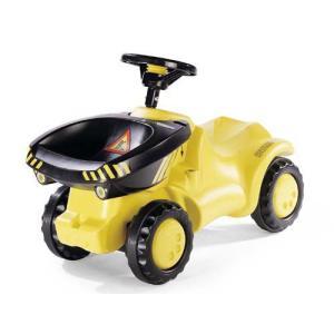 乗用玩具 ダンパーミニ ジョブインターナショナル JOB おもちゃ 自動車 働く車 シャベルカー ショベルカー 誕生日プレゼント rolly toys ロリートイズ|pinkybabys