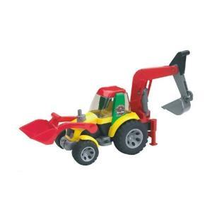 ミニカー ROADMAXバックホールローダー ジョブインターナショナル JOB おもちゃ トラック 自動車 働く車 電車 シャベルカー ショベルカー 【Bruder】|pinkybabys