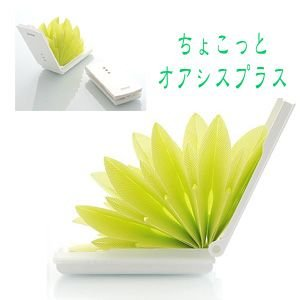 加湿器 ちょこっとオアシスプラス U502-02 グリーン 加湿器 オフィス用 寝室用 エコ 自然気化式 電池不要 eco エコロジー加湿器 mikuni ミクニ baby|pinkybabys