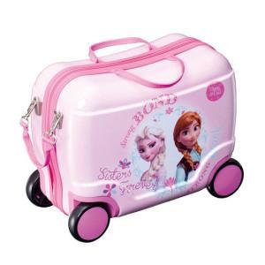 リトローリー アナと雪の女王 ピンク アイデス ides 乗り物 のりもの カバン キャリーバッグ 乗用玩具 ディズニー アナ エルザ *|pinkybabys