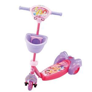 キックスクーター キッズスクーター プリンセス アイデス ides ディズニー Disney 三輪車 自転車 バランスバイク スケーター 遊具 おもちゃ kids baby pinkybabys