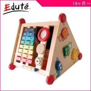 知育玩具 指先レッスンボックス エデュテ アイムトイ 木製玩具 おもちゃ キッズ ベビー 誕生日 ギフト お祝い 楽器 パズル トレーニング お絵かき|pinkybabys