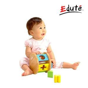 知育玩具 KOROKOROパズル コロコロパズル エデュテ おもちゃ 木製玩具 ベビー キッズ 赤ちゃん 出産祝 誕生日 プレゼント 積木 積み木 音 子供 孫 kids baby|pinkybabys