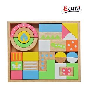 知育玩具 SOUNDブロックスLarge サウンド ブロックス ラージ エデュテ 木製玩具 おもちゃ キッズ 出産 お祝い 誕生日 プレゼント 積み木 連休 帰省|pinkybabys