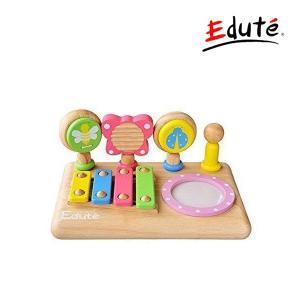 知育玩具 ファーストミュージックセット first music set エデュテ おもちゃ 木製 楽器 赤ちゃん 子供 キッズ ベビー baby kids 誕生日 プレゼント 楽器|pinkybabys