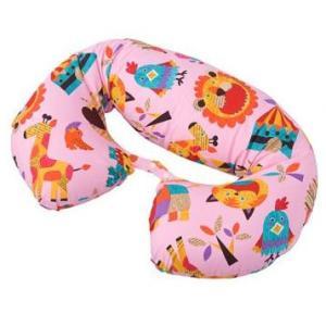 授乳クッション ZOO ロングクッション ピンク PK 授乳クッション 授乳 クッション マルチクッション ギフト プレゼント ママ こども 子供 赤ちゃん フジキ|pinkybabys