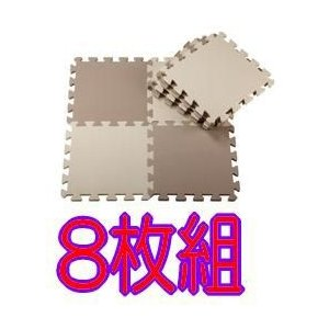 ジョイントマット カラーマット モンブラン 8枚組 CBジャパン ジャパン マット 室内 室内マット インテリア こども ベビー 子供部屋 EVA 模様替え カラー|pinkybabys
