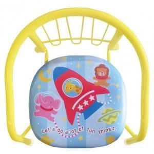 ローチェア 豆イス 楽しいどうぶつロケット ベビーチェア ローチェア 椅子 イス 子供用※ギフト包装不可※ シンセーインターナショナル pinkybabys
