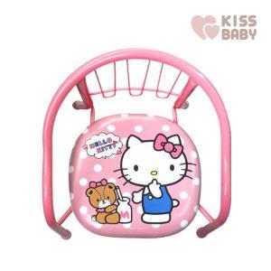 ベビーチェア 静かな豆イス ハローキティ シンセー 赤ちゃん 子供 ベビー キッズ baby kids child kitty キティ ローチェア 椅子 イス まめイス お祝い|pinkybabys