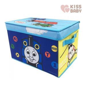 おもちゃ収納 トーマス ふた付き収納ボックス シンセーインターナショナル 機関車 トーマス おもちゃ箱 子ども部屋 キッズルーム 玩具 収納用品 男の子 女の子|pinkybabys