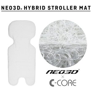 ベビーカーシート エアバギー用 NEO3D HYBRID STROLLER MAT  ネオ3Dハイブリッドストローラーマット airbuggy 汗取り クッション GMPインターナショナル baby|pinkybabys