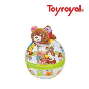 おもちゃ 362 くまのヒーリングポロン ローヤル toyroyal RODY おもちゃ toys ギフト おきあがりこぼし ポロン コロンコロン 出産祝い 誕生日 安全|pinkybabys