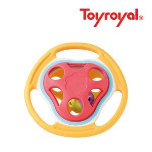 ラトル 3193 やわらかふってりんりん ローヤル toyroyal おもちゃ toys ギフト gift プレゼント 出産祝い 安全 安心 楽器 ガラガラ 歯固め ラトル|pinkybabys
