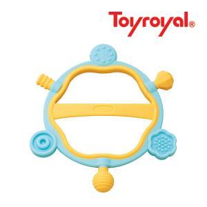 ラトル 3194 やわらかリングかみかみ ローヤル toyroyal おもちゃ toys ギフト gift プレゼント 出産祝い 安全 安心 歯固め ラトル|pinkybabys