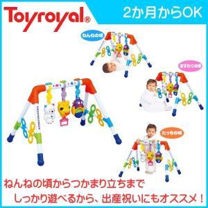 ベビージム3805 メロディFunFunジム ローヤル toyroyal おもちゃ toys ギフト gift プレイジム メロディファンファンジム 出産祝い 誕生日プレゼント 安全 安心 pinkybabys