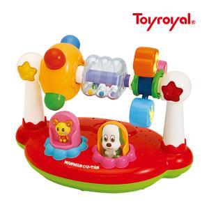 知育玩具 ワンワンとうーたんのまわしてクルクルサウンド トイ ローヤル おもちゃ 赤ちゃん ベビー 誕生日 お祝い ギフト プレゼント 孫 kids baby|pinkybabys