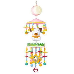 フロアメリー 8012 こぐまのメリーゴーランド 天井吊りタイプ ローヤル toyroyal おもちゃ toys ギフト gift 誕生日プレゼント 出産祝い ベッドメリー  人気 pinkybabys