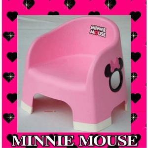 ローチェア  ミニーマウス ララチェア ピーチピンク 女の子 チェア ミニー 子供用 disney 椅子 イス 豆チェア 豆イス 錦化成 【ギフト包装不可】|pinkybabys
