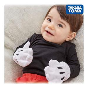 ガラガラ ラトル Dear Little Hands パリパリおてて ミッキーマウス タカラトミー おもちゃ ベビー 赤ちゃん Disney ディズニー プレゼント ベビートイ|pinkybabys