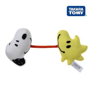 ガラガラ ラトル Dear Little Hands うまれてはじめてにぎれるリンリン スヌーピー タカラトミー おもちゃ 赤ちゃん ベビー 誕生 お祝い ギフト プレゼント|pinkybabys