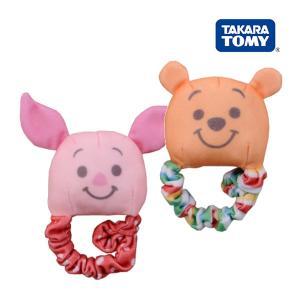 ラトル くまのプーさん あんよでラトル タカラトミー Takara Tomy Disney Pooh おもちゃ toys ギフト ガラガラ 布おもちゃ 誕生日プレゼント 知育玩具 発育 安全|pinkybabys