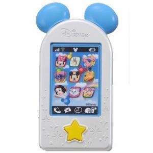 おしゃべりメロディスマートフォン ブルー タカラトミー Takara Tomy Disney おもちゃ toys ギフト i-phone 電話 携帯 誕生日プレゼント 知育玩具 発育 安全*|pinkybabys