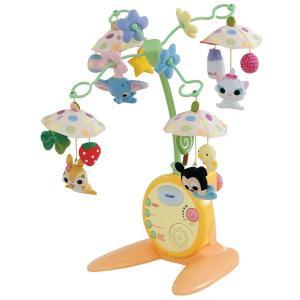 フロアメリー ディズニーキャラクターズ やわらかガラガラメリーデラックス タカラトミー Takara Tomy Disney おもちゃ toys ベッドメリー ギフト 出産祝い pinkybabys