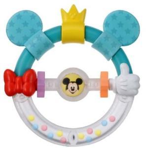 ラトル Dear Little Hands おしゃぶりラトル ミッキー&ミニー タカラトミー Takara Tomy Disney おもちゃ toys ギフト ガラガラ ラトル 安全 安心|pinkybabys
