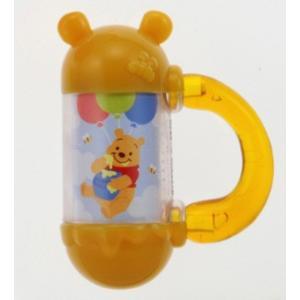ラトル Dear Little Hands にぎってふってポロロン くまのプーさん タカラトミー Takara Tomy Disney Pooh おもちゃ toys ギフト ガラガラ 知育玩具 発育 安全|pinkybabys