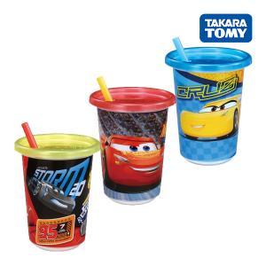 好きなカップを選んでお友達とパーティ!  1)カーズ3のキャラクターがえがかれたストローカップが入っ...