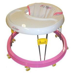 歩行器 La Baby ピンク PK ラ ベビー 歩行器 ウォーカー ベビー こども 御祝 ギフト パピー|pinkybabys