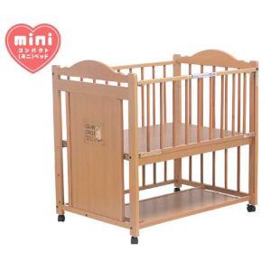 ベビーベッド サワベビー 澤田工業 ベビーベッド E型スクエア No.19 ナチュラル ベット sawa bed baby|pinkybabys