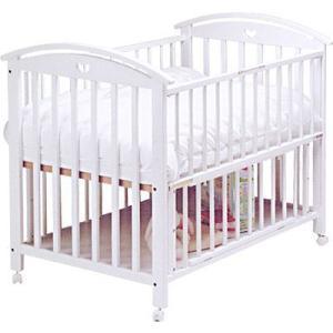 ベビーベッド サワベビー 澤田工業 日本製 ベビーベッド A型ファミーユ No5 ホワイト ベット sawa bed baby|pinkybabys