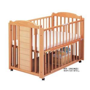 ベビーベッド サワベビー 澤田工業 日本製 ベビーベッド O型ドロール No12 ナチュラル ベット sawa bed|pinkybabys