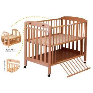 ベビーベッド サワベビー 澤田工業 日本製 ベビーベッド I型 エトワール ナチュラル ベット sawa bed baby|pinkybabys