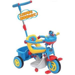 三輪車 NEW きかんしゃトーマス ママドライブ 上尾工業 おもちゃ toys 自転車 バランスバイク 遊具 Thomas 誕生日プレゼント 安心 安全 知育玩具 人気商品|pinkybabys