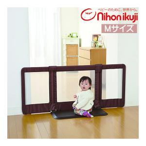 ベビーゲート おくだけとおせんぼ Mサイズ ベビーフェンス ベビーゲート 室内 赤ちゃん 子供 安全 日本育児 一部地域送料無料 取付幅95〜140cm|pinkybabys
