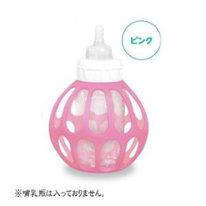 哺乳瓶 baマグボール+(プラス) ピンク PK マグボール nihonikuji マグ 哺乳瓶 ほ乳ビン ベビー 赤ちゃん 日本育児|pinkybabys