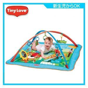 ベビージム ジミニー トータルプレイグラウンド キック&プレイ シティサファリ タイニーラブ 日本育児 おもちゃ プレイマット 出産祝 Tiny Love 送料無料 pinkybabys