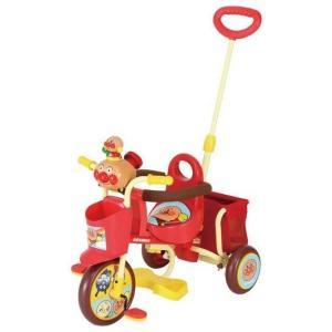 三輪車 おでかけ三輪車 わくわくアンパンマンごう ピース エムアンドエム M&M mimi 乗り物 遊具 トイ おもちゃ 乗用 自転車|pinkybabys